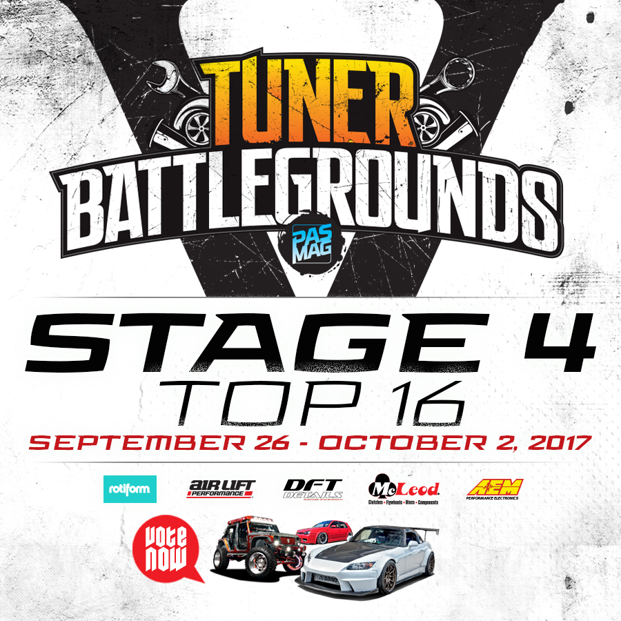 2017 Tuner Battlegrounds Championship Stage 4 IG