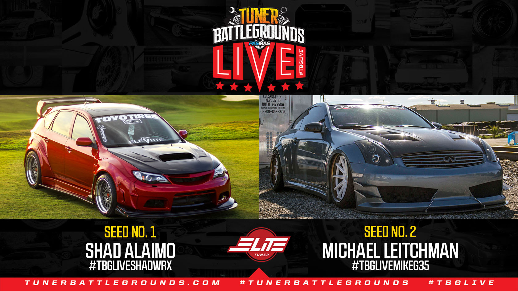 Tuner Battlegrounds Elite Showdown LA Battle 3