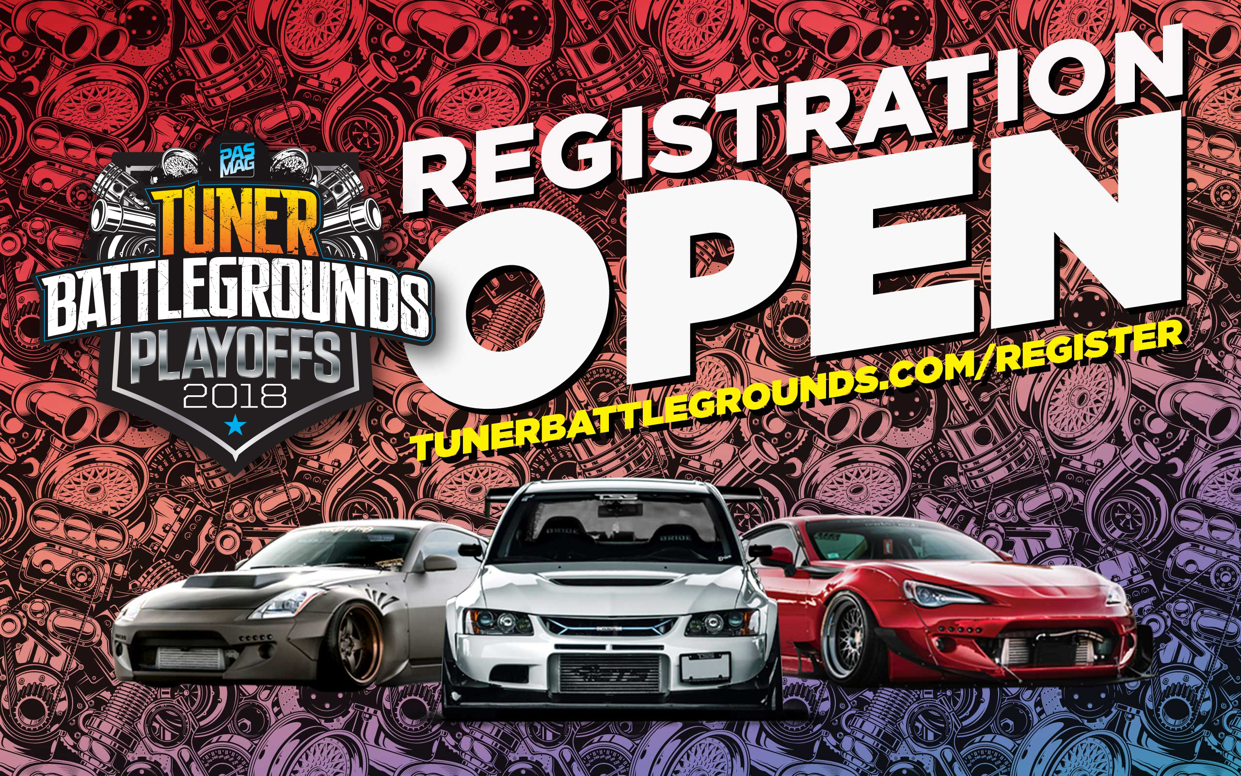 2018 Tuner Battlegrounds Playoffs REG Open 2560x1600