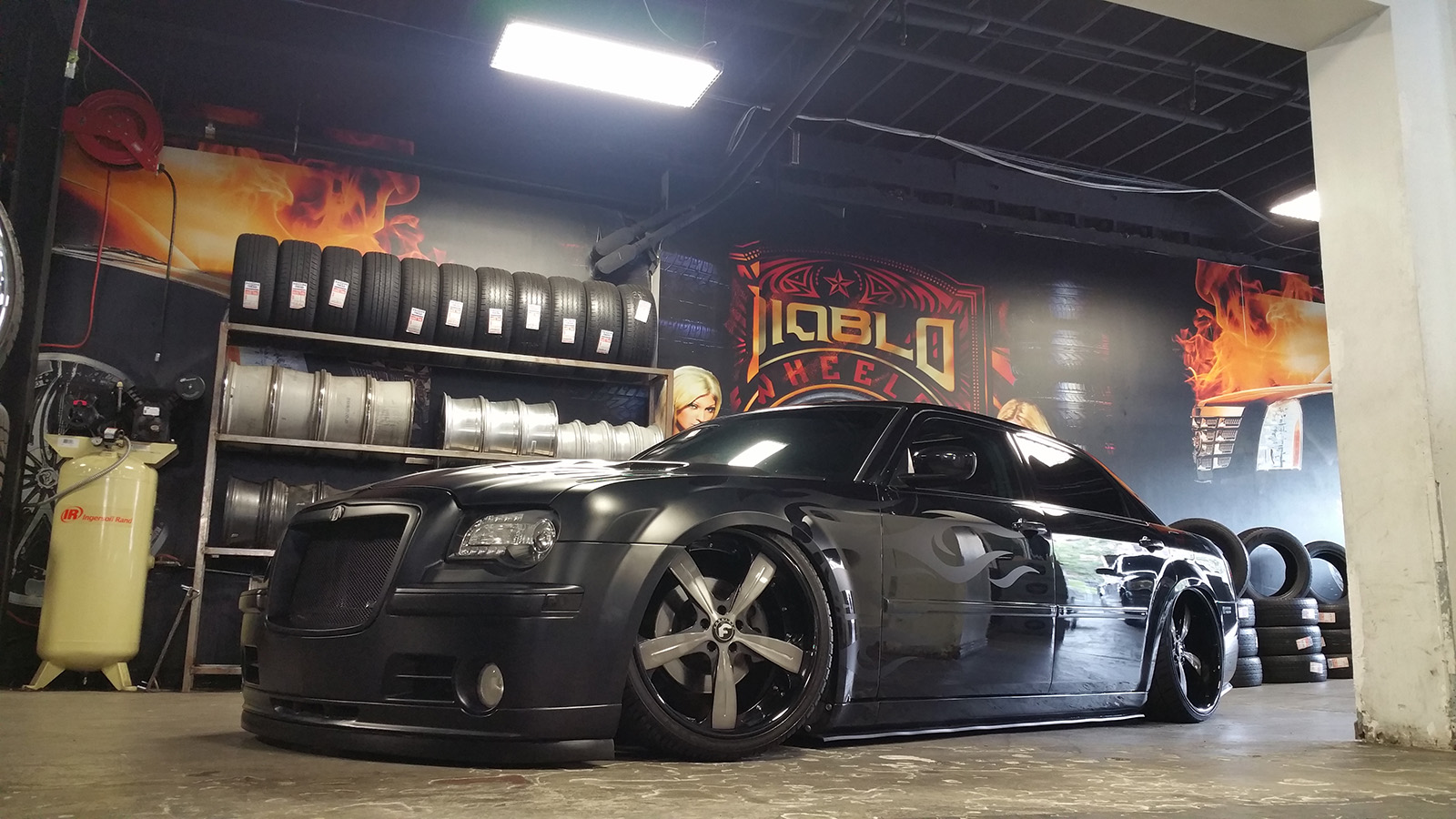 03 David Gutierrez 2007 Chrysler 300 LWB PASMAG Tuner Battlegrounds