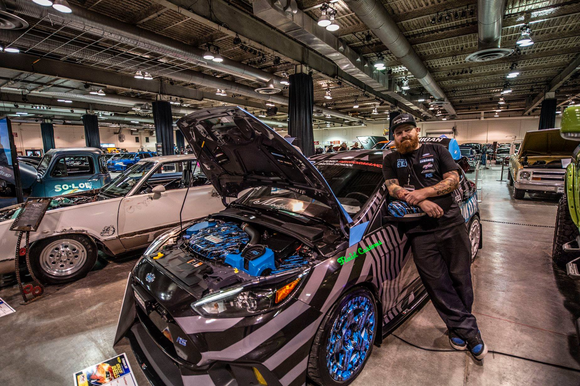 James Creasey 2017 Ford Focus RS TBGLIVE12