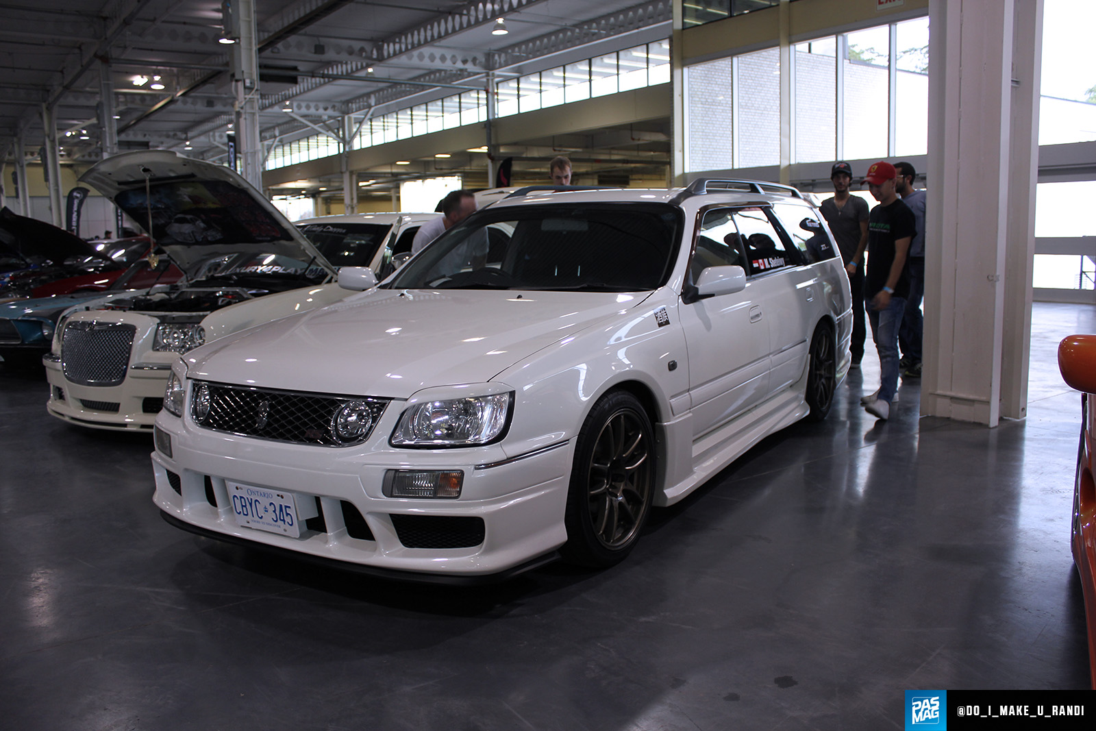 Mostafa Sheteiwy 1999 Nissan Stagea TBGLIVE10