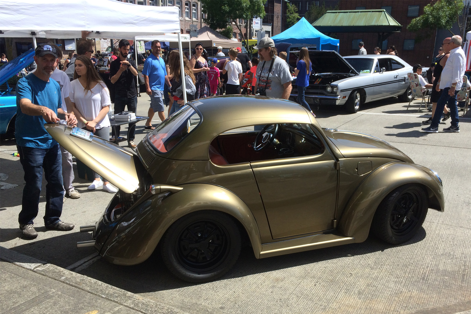 Scottie Stratton 1962 VW Beetle TBGLIVE 8