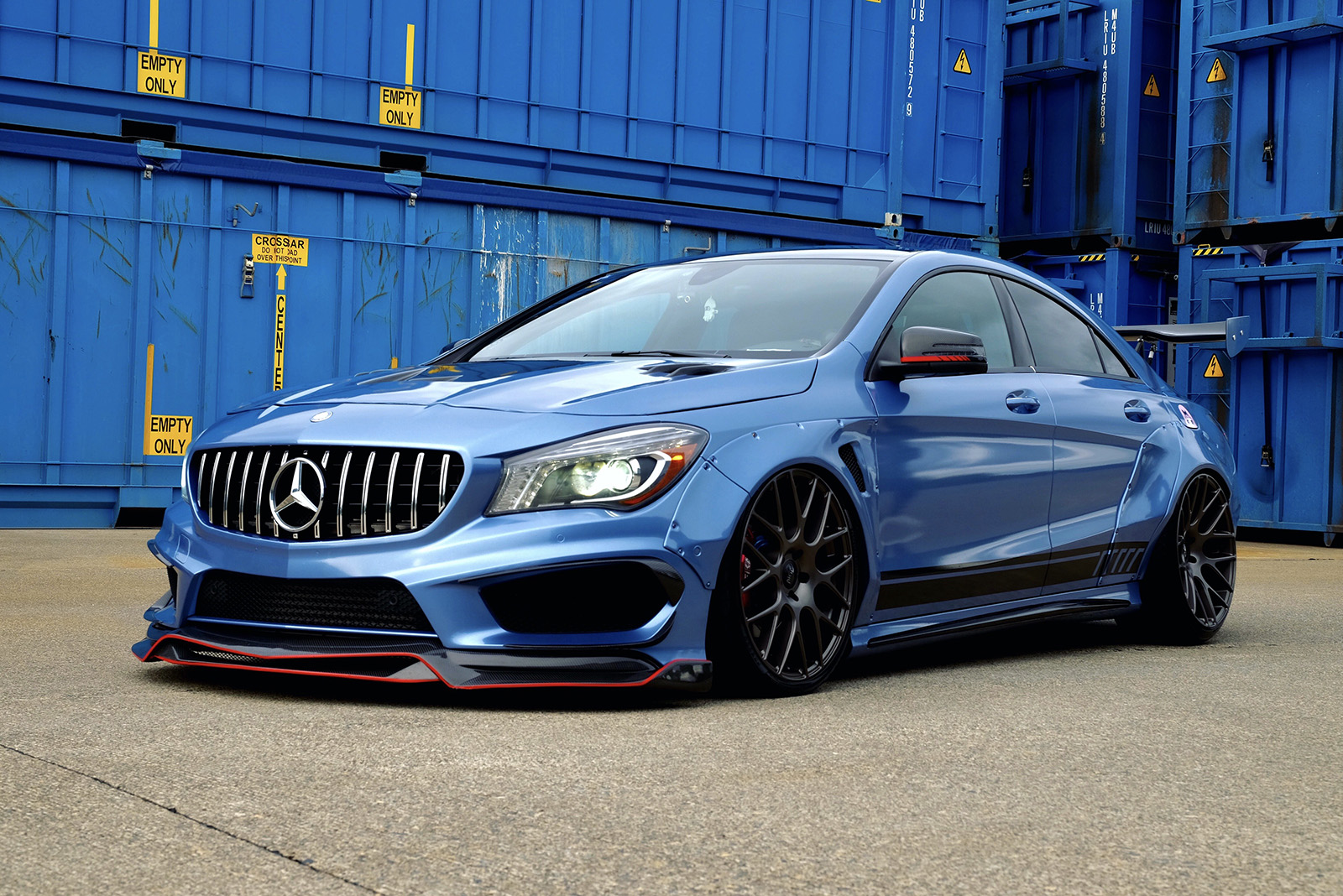 01 Will Cai 2015 Mercedes Benz CLA250 pasmag tuner battlegrounds