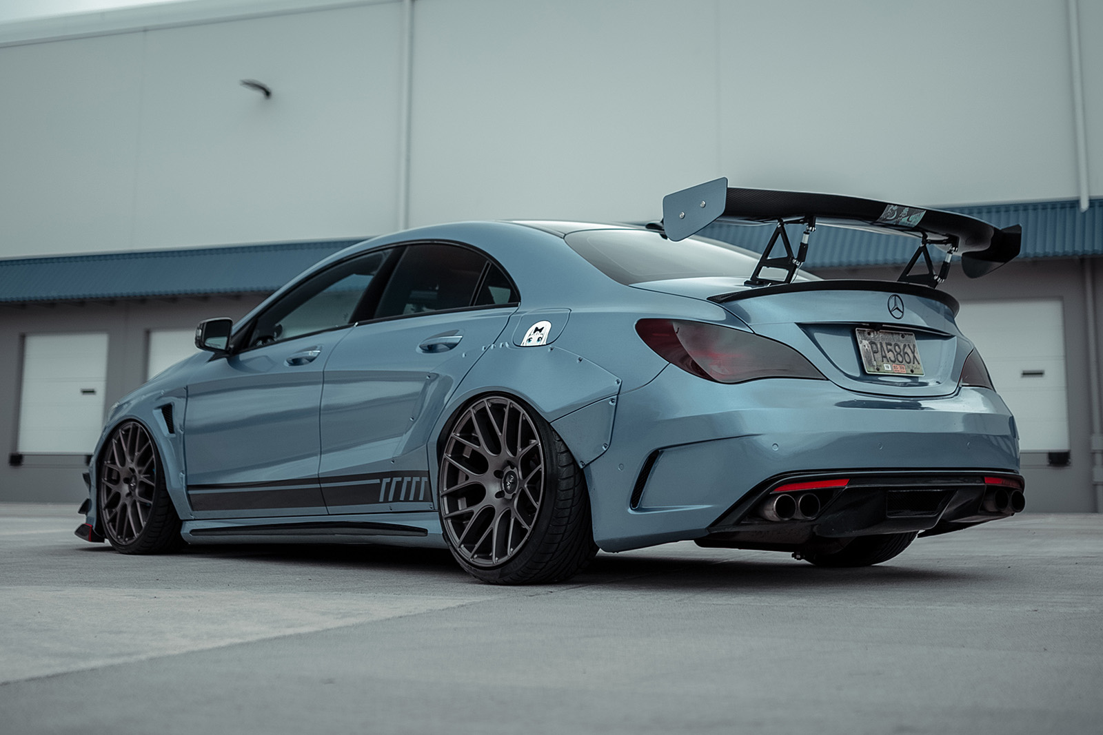 03 Will Cai 2015 Mercedes Benz CLA250 pasmag tuner battlegrounds