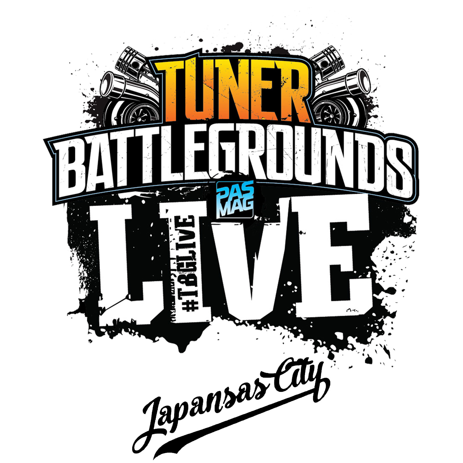 TBGLIVE Logo Japansas City 2018