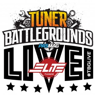 Tuner Battlegrounds TBGLIVE Logo Elite Tuner Import v Domestic 2016