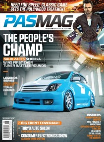 PASMAG Tuner Battlegrounds 2013 Champion: Salik Zaki (Scion xA)